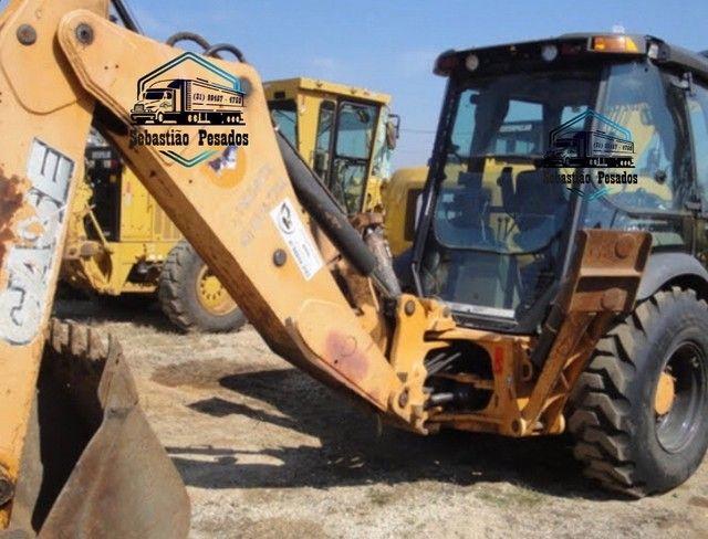 Retro Escavadeira Case 580N 2014  - Foto 3