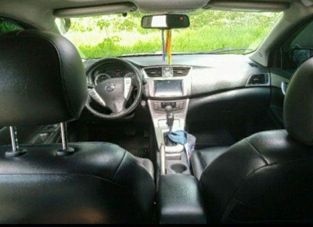 Nissan Sentra SL 2.0 Flex Full GNV Automático Impecável  - Foto 6
