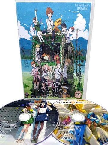 Box Dvd Digimon Adventure Tri Completo 6 Filmes - Foto 2