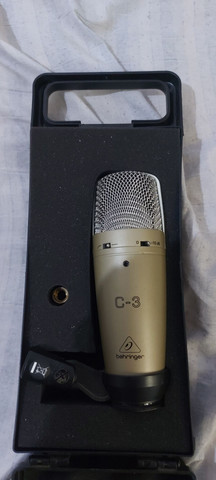 Microfone  condensador behinger  c3