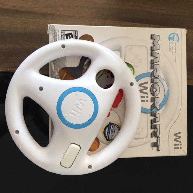 Nintendo WII + diversos jogos + acessórios - Foto 3