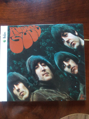 Cd Beatles - Rubber Soul