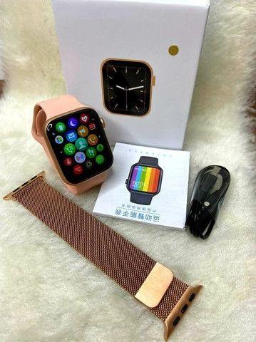 Smartwatch W26 pro 26+ original top de linha - Foto 2