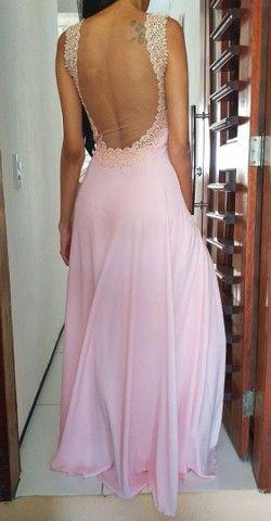 Vestido de festa Rosa Bebê - Foto 2