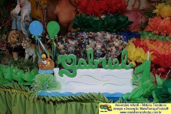 Arca de Noé - tema evangélico para decoração ambientes de festa infantil