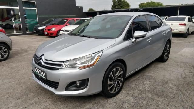 CITROEN C4 LOUNGE 1.6 EXCLUSIVE 16V TURBO GASOLINA 4P AUT 2015