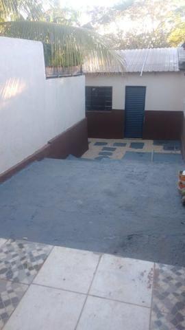 Casa com piscina sala de comércio barraco de aluguel - Foto 3