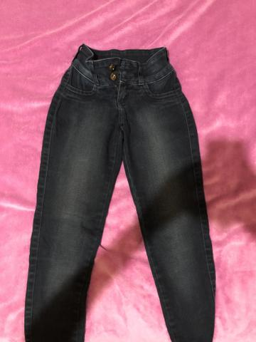 Calça Jeans Skinny, tamanho 34