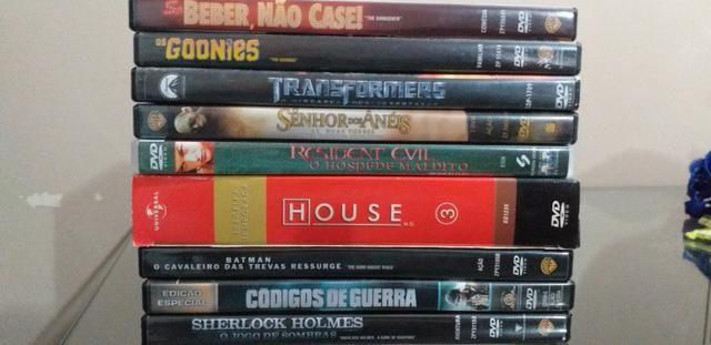 Lote com vários filmes em dvd Original