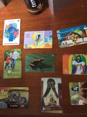 Coleção cartões telefônicos - Foto 4