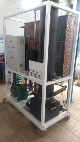 Maquina de gelo tubo e escama de 1 a 3 ton industrial - Foto 3