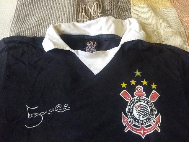 Camiseta corinthians marcelinho carioca - Foto 2