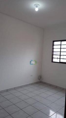 Casa com 2 dormitórios para alugar, 70 m² por r$ 1.100,00/mês - parque maria helena - são  - Foto 20
