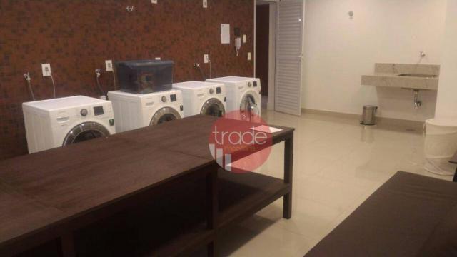 Flat com 1 dormitório para alugar, 44 m² por r$ 1.800,00/mês - bosque das juritis - ribeir - Foto 11