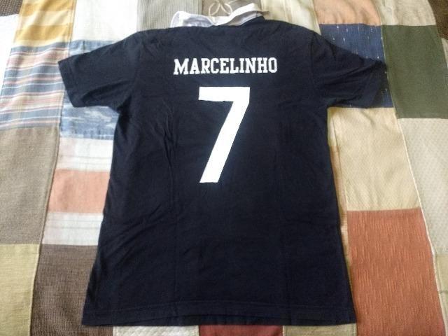 Camiseta corinthians marcelinho carioca