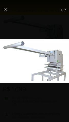 Maquina de de Fazer chinelos Completa 7x1 + facas do 23 ao 42
