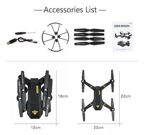Drone visuo 3 bateria - Foto 3