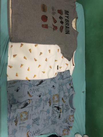 Trio de camisas - Foto 4