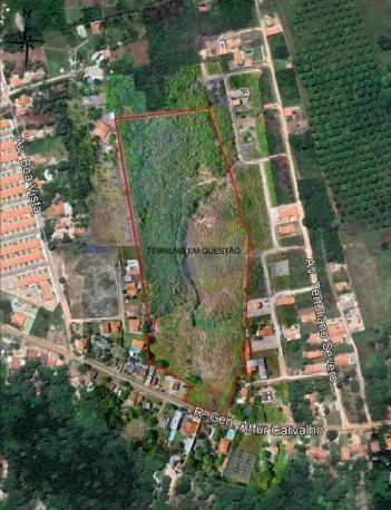 Oportunidade!!! Excelente área para investidores na Av. General Artur Carvalho/Turu