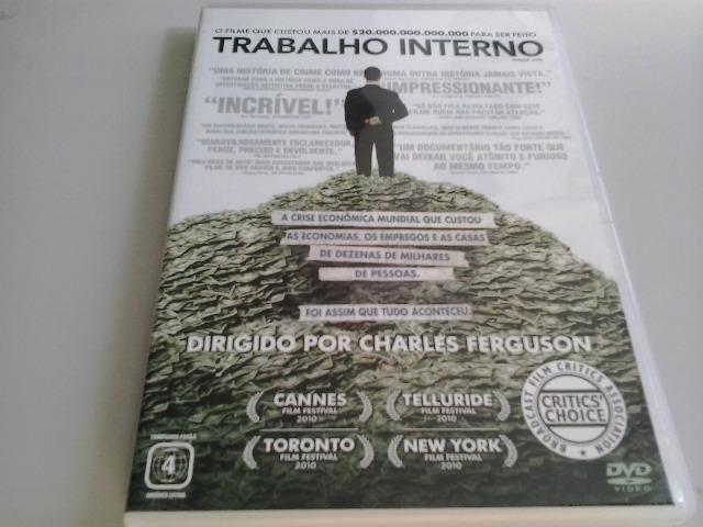 DVD Trabalho Interno (Documentário) - Charles Ferguson - Foto 2