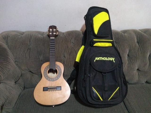 Cavaquinho Araújo Luthier Super Clássico Jacarandá Escala em Ébano Com Bag Anthology