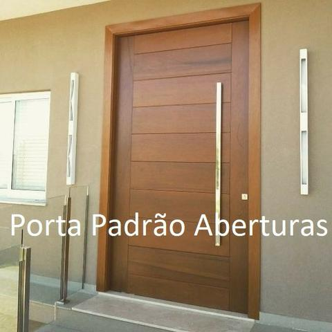 Porta de madeira maciça - Foto 3