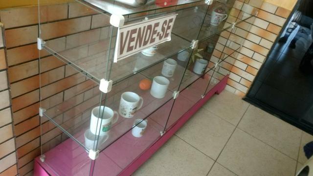 Vendo esse balcão de vidro $500 - Foto 2
