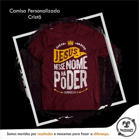 Camisa Personalizada - Cristã - Foto 4