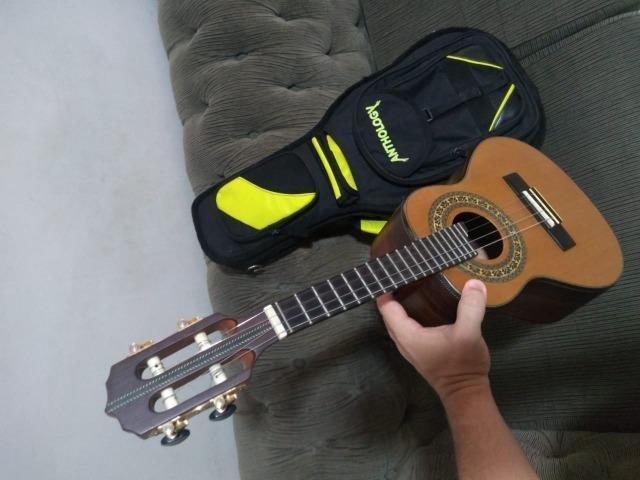 Cavaquinho Araújo Luthier Super Clássico Jacarandá Escala em Ébano Com Bag Anthology - Foto 3