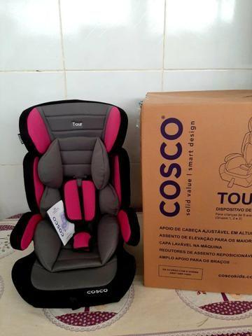 Cadeira de carro nova na CAIXA 9kg até 36kg Vira acento - Foto 4