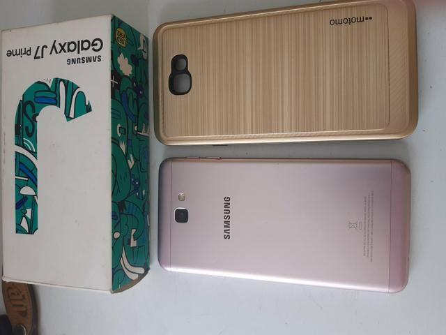 Vendo Samsung j7 Prime 32gb 3gb RAM valor pra vender - Foto 4