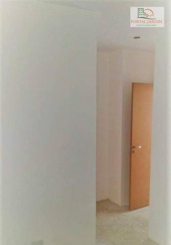 Apartamento com 2 dormitórios à venda, 75 m² por r$ 350.000 - vila camilópolis - santo and - Foto 6