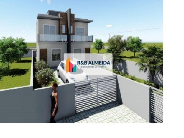 JA-Bonita Casa duplex 2 dormitórios c/76m² de área construida Ingleses - Foto 2