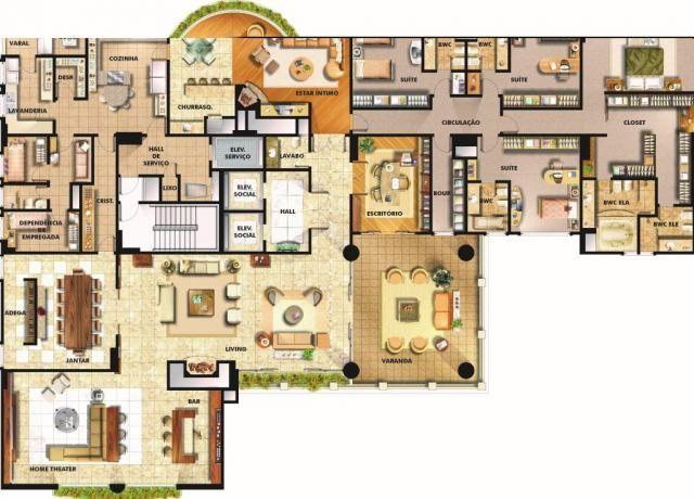 Apartamento à venda com 4 dormitórios em Batel, Curitiba cod:AP0041 - Foto 18