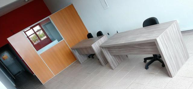 Escritório / Sala Comercial Mobiliada com 100m2 ideal para cowork - Foto 3