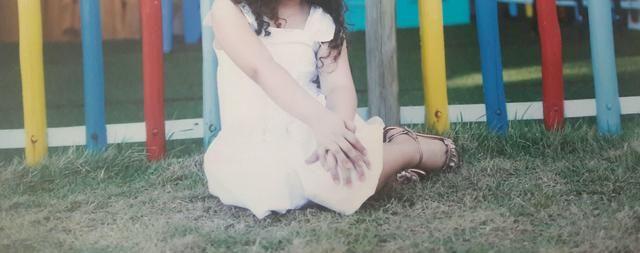 Vestido branco infantil - Foto 2