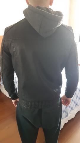 Jaqueta de couro TNG - Foto 2