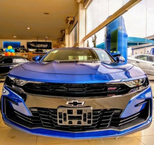 Camaro Ss v8 6.2 2019 AZUL - Foto 7