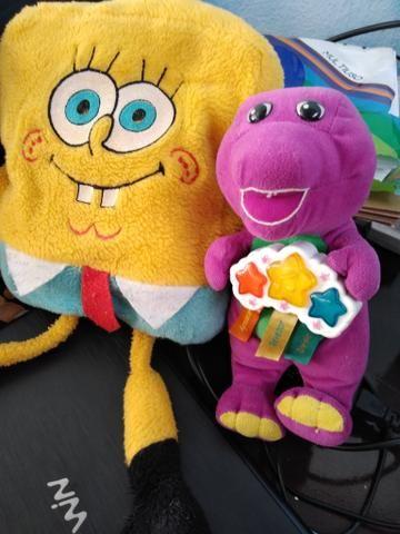 Barney Musical e Bob esponja
