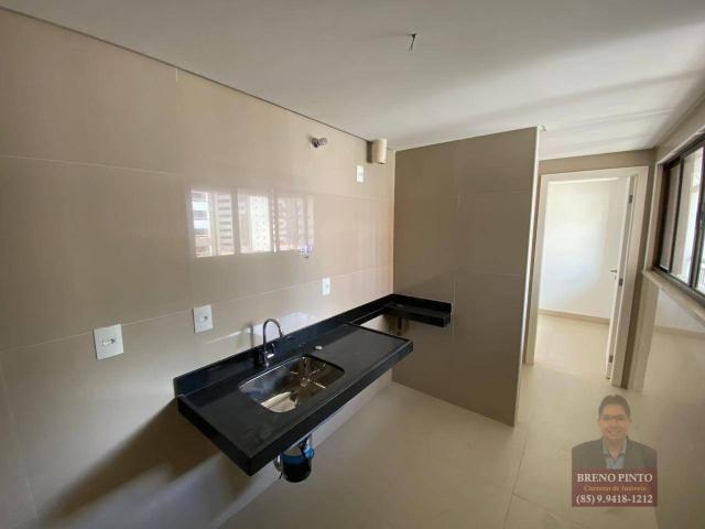 Apartamento à venda, 112 m² por R$ 1.090.000,00 - Meireles - Fortaleza/CE - Foto 14