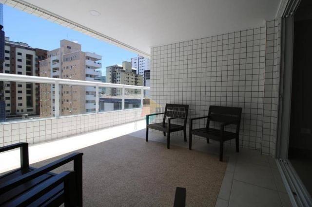 Apartamento com 2 dormitórios à venda, 83 m² por R$ 543.335,00 - Canto do Forte - Praia Gr - Foto 19