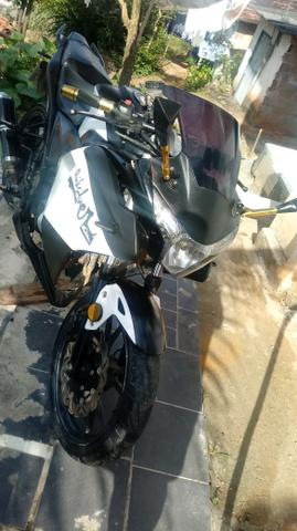 Vendo moto NAZAXX ou troco em carros q esta bem conservado - Foto 6
