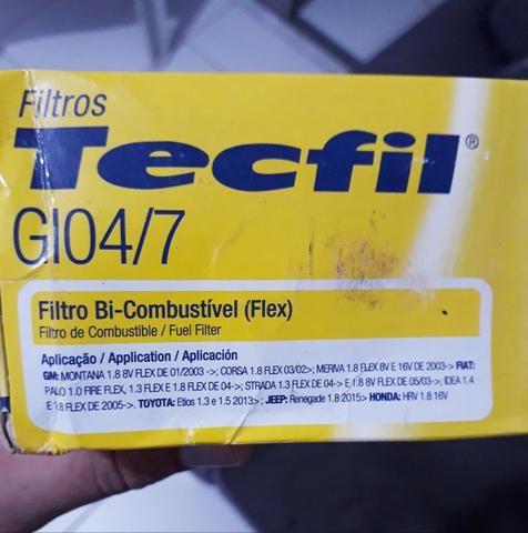Filtro de Combustível (Flex) - Foto 2