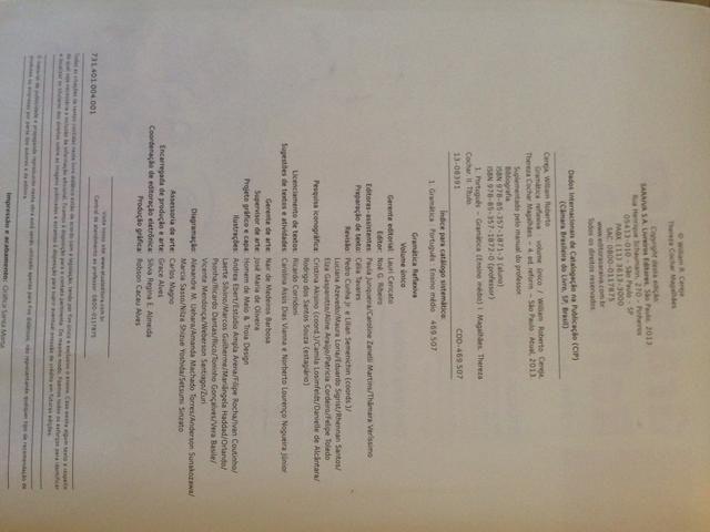 Livro Gramática Reflexive texto, semântica e interação - William Cereja/Thereza Cochar - Foto 4