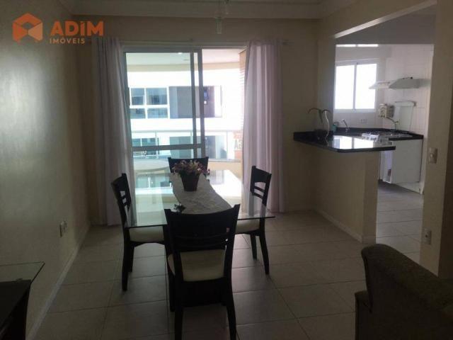 Apartamento com 3 dormitórios para alugar, 97 m² por R$ 3.228/mês - Pioneiros - Balneário