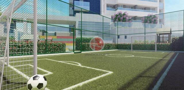 Apartamento com 3 dormitórios à venda, 79 m² por R$ 891.000,00 - Meireles - Fortaleza/CE - Foto 6