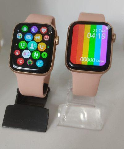 Smartwatch iwo 12 lite pro (Rosa) Tela Infinita