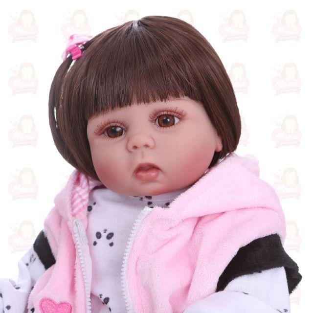 Bebê reborn - Pandinha 40 cm - Foto 2