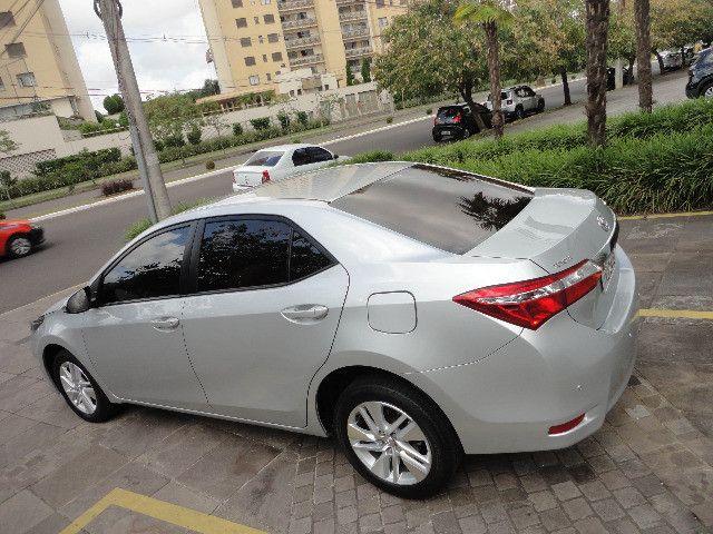 Toyota Corolla Upper 2017 Como Novo - Foto 3