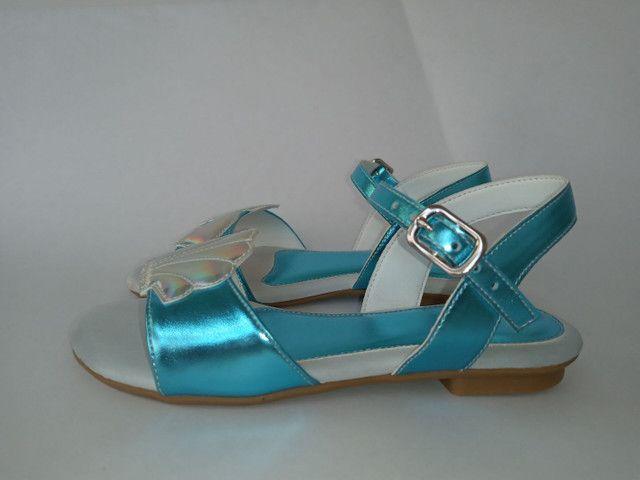 Kit 2 pares de sandálias infantis menina - Foto 2